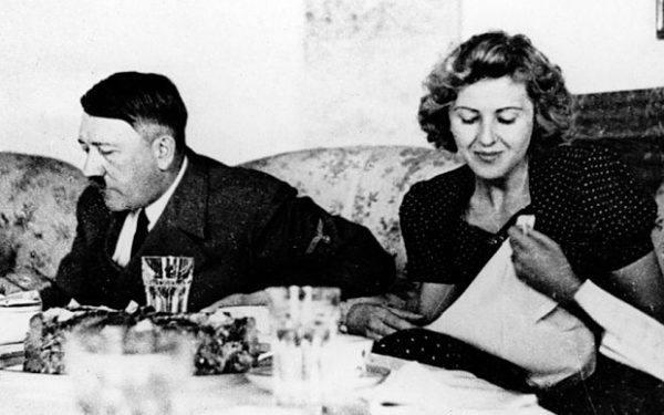 Hitler y Eva Brown