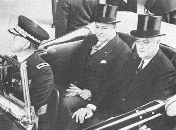 Somoza García y Franklin D. Roosevelt