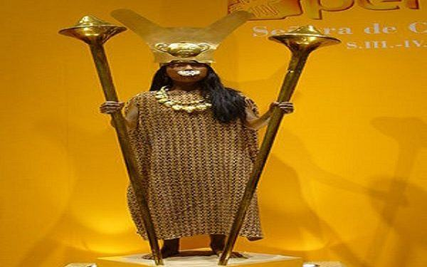 Dama de Cao Senor de Sipan