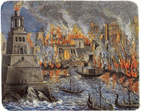 La ciudad fue destruida en distintas ocasiones