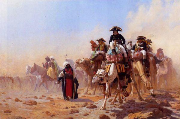 Napoleón en su campaña por Egipto ocupó la ciudad