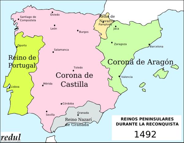 Situación en la Península Ibérica