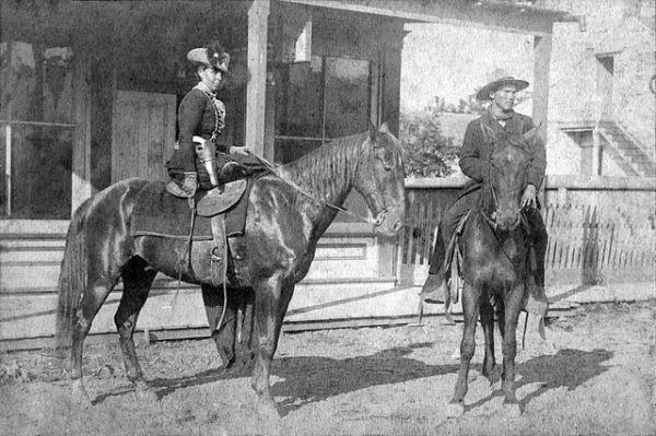 Belle Starr en Fort Smith,