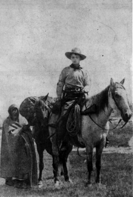 Pony Express. 1861 Jinete de la Compañía