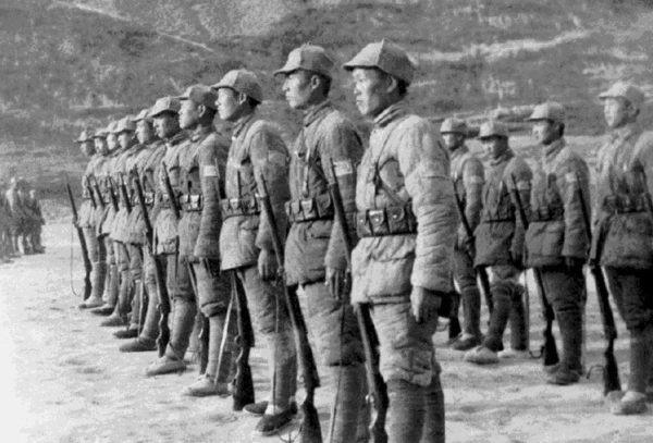 En unas semanas, los japoneses controlaron el pasillo este-oeste desde Pekín hasta Tianjin, en el golfo de Chihli.