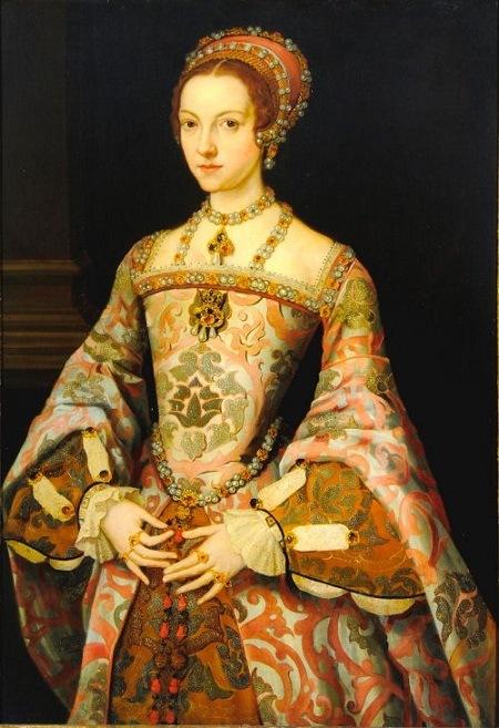 Catalina Parr, última mujer de Enrique VIII, quién junto a Catalina de Aragón murieron como reinas de Inglaterra