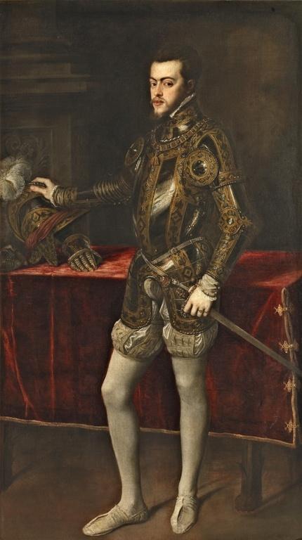 Retrato de Tiziano que se le enseñó a María y del que quedó perdidamente enamorada