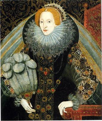 La reina Isabel I, contaba con más de 2000 vestidos en su guardarropa