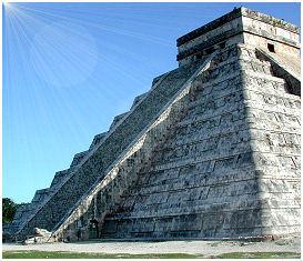Chichén Itzá y la serpiente de luz