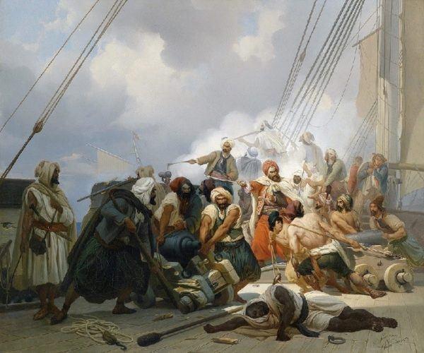 Piratas Berberiscos