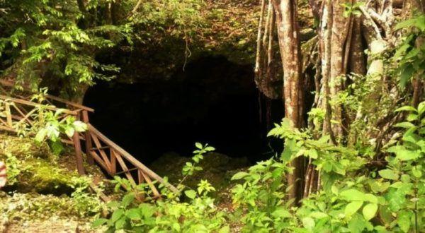 Cueva de Morgan. Isla de San Andrés, Colombia. Lugar donde Morgan enterró uno de los mayores tesoros, todavía no encontrado