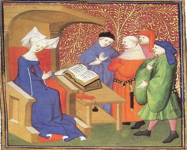 Christine de Pizan personajes