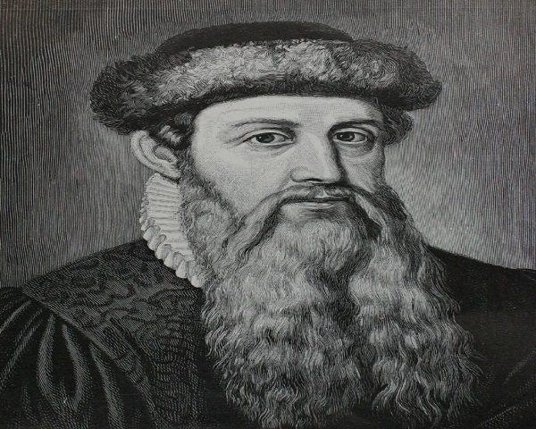 Gutenberg Personajes