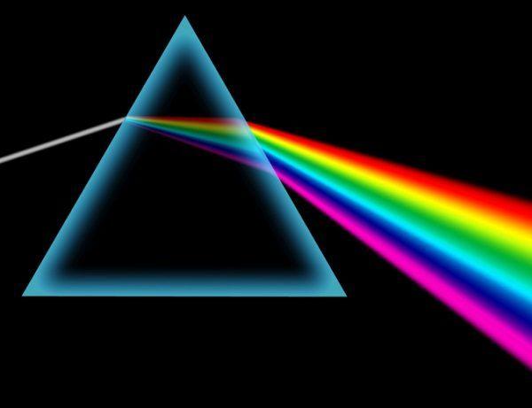 isaac newton luz color