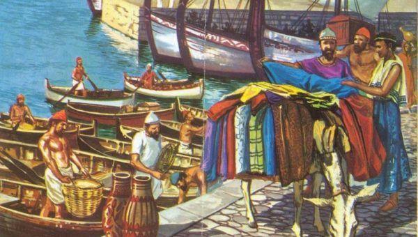 Cultura fenicia - Historia, economía y características - SobreHistoria.com