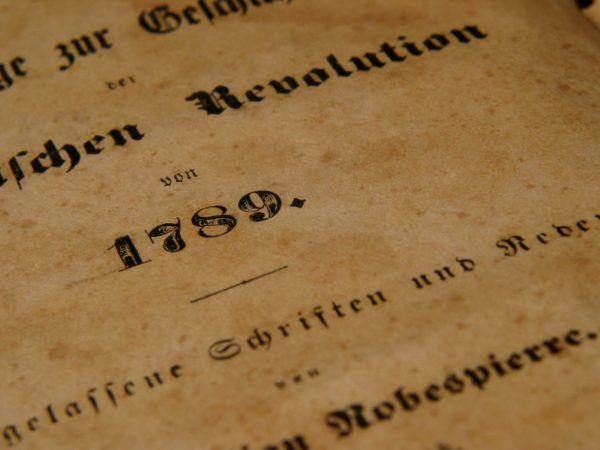 Revolucion francesa trabajo bachillerato