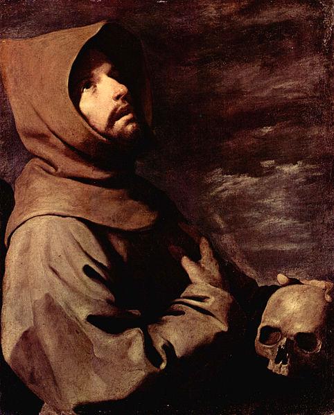los-pintores-espanoles-mas-famosos-de-la-historia-y-sus-obras-mas-importantes-francisco-zurbaran-San-Francisco-arrodillado-con-una-calavera-en-las-manos