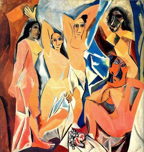 los-pintores-espanoles-mas-famosos-de-la-historia-y-sus-obras-mas-importantes-pablo-picasso-las-señoritas-de-avignon