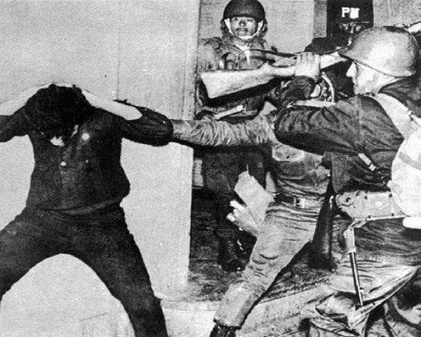 Asalto plaza 2 octubre 1968