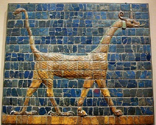 Detalle puerta de Ishtar