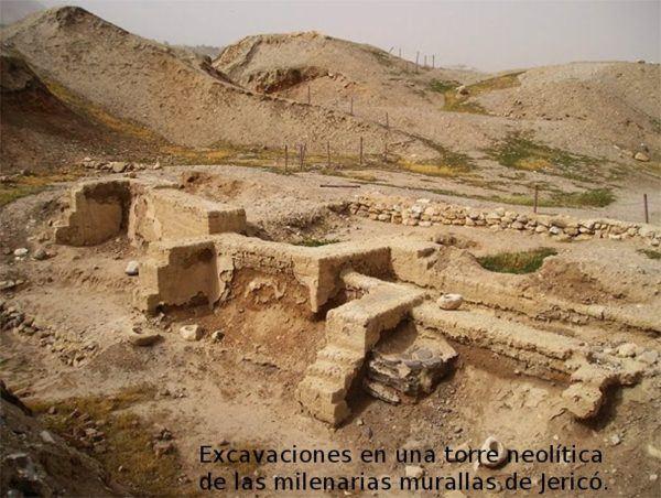 Restos arqueológicos de las Murallas de Jericoh