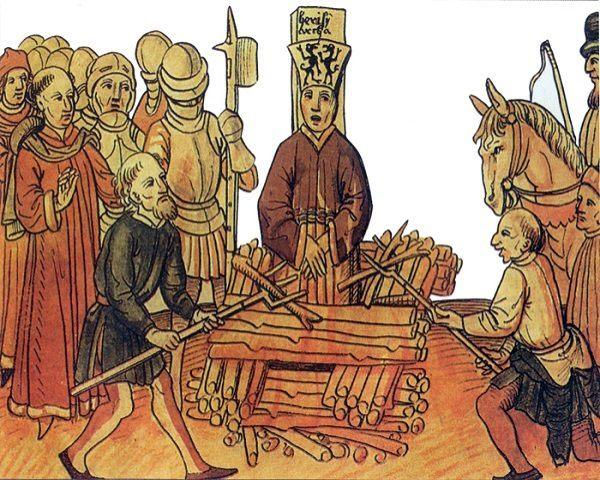 Juan Hus ejecutado