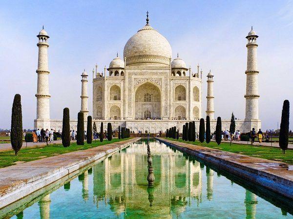 Taj Mahal Maravillas del Mundo
