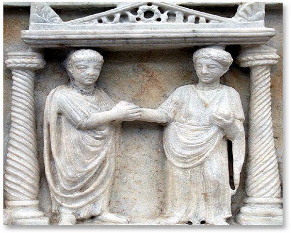Roma matrimonio mujer