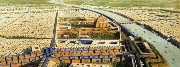 la-torre-de-babel-ciudad-babilonia-lejos