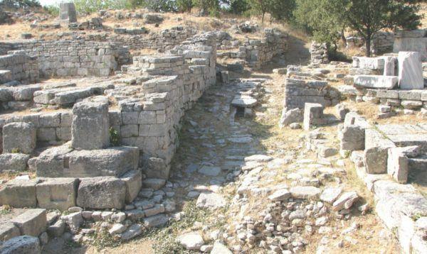 Ruinas de Troya. Patrimonio de la Humanidad