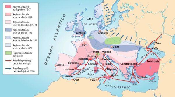 la-peste-negra-de-1348-propagacion-mapa