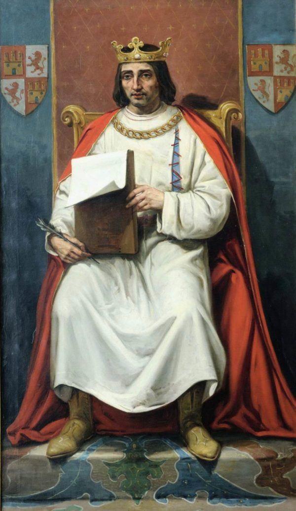 Alfonso X apodado El Sabio