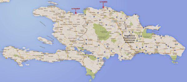 cristobal-colon-y-el-descubrimiento-de-america-fuerte-La Isabela