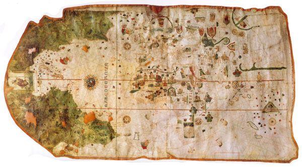 Primer Mapa del Nuevo Mundo, Juan de la Cosa 1500