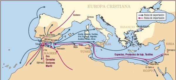 Los Turcos controlan el comercio desde la caída de Constantinopla