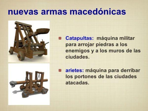 Armas macedonias