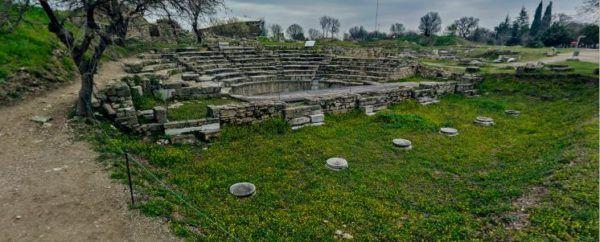 Ciudad de Troya . Teatro de Troya