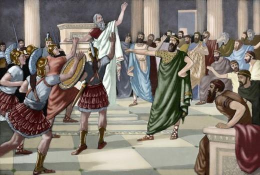 CRITIAS (460-403 a. C.). Sofista griego Formó parte de los Treinta Tiranos