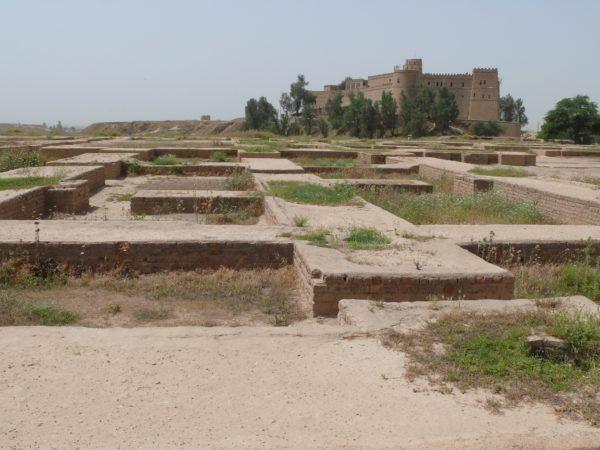 Palacio de Darío I, Susa