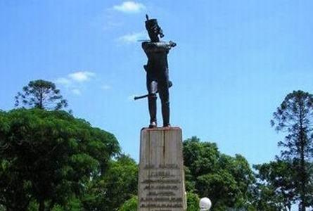 Juan Bautista Cabral muere en acción, salvando al Gral. San Martín.
