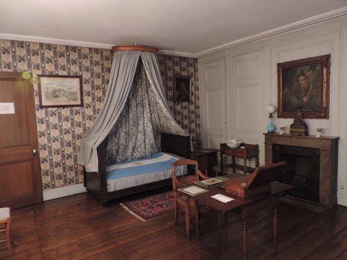 Dormitorio Casa Museo Gral. San Martin - Boulogne Sur Mer - Francia