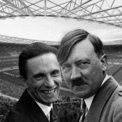Goebbels y Hitler