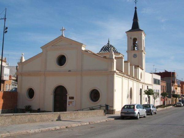 Iglesia de santiago apóstol barrio pescador de santa lucía- Cartagena