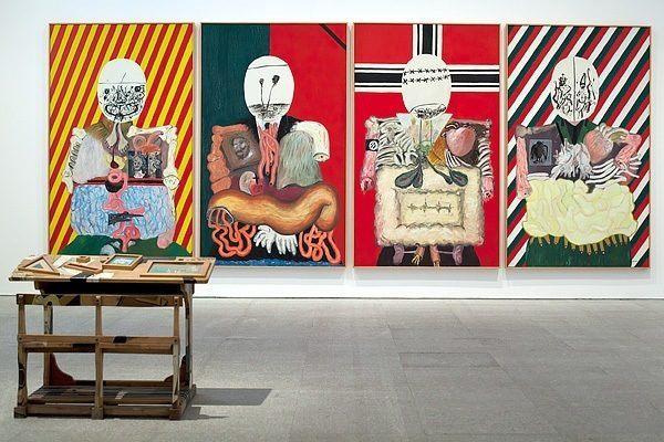 pintores-espanoles-mas-famosos-de-la-historia-y-sus-obras-mas-importantes-eduardo-arroyo-hombre-en-camino