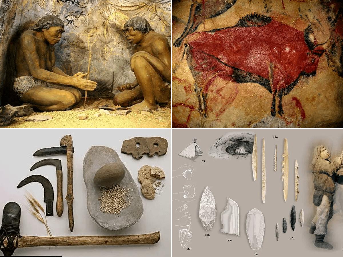 Edades de la Prehistoria - Temario Secundaria - SobreHistoria.com
