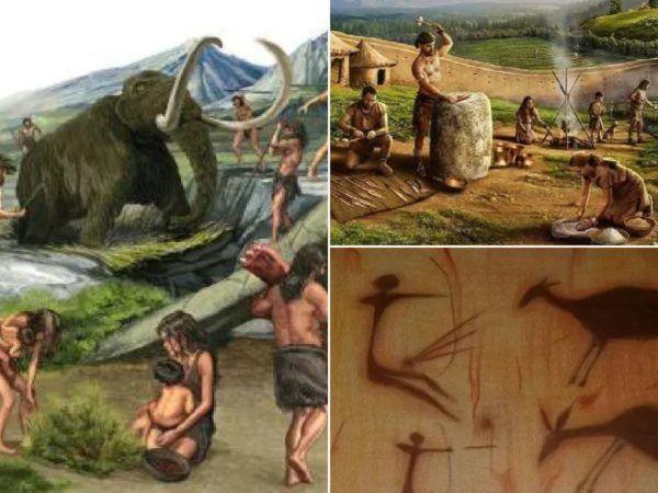 Cazadores y recolectores del paleolítico