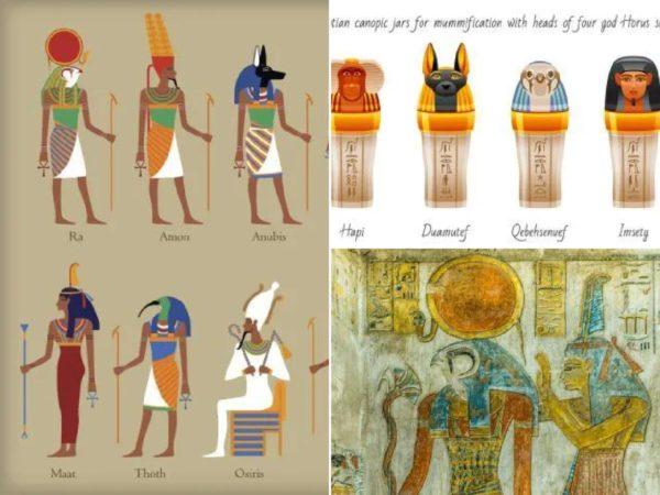 Lista de los dioses más importantes de Egipto