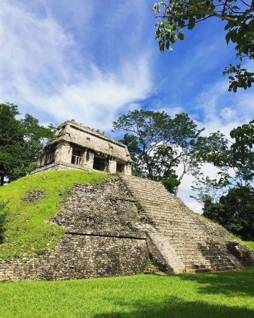 Pirámide maya de Chiapas