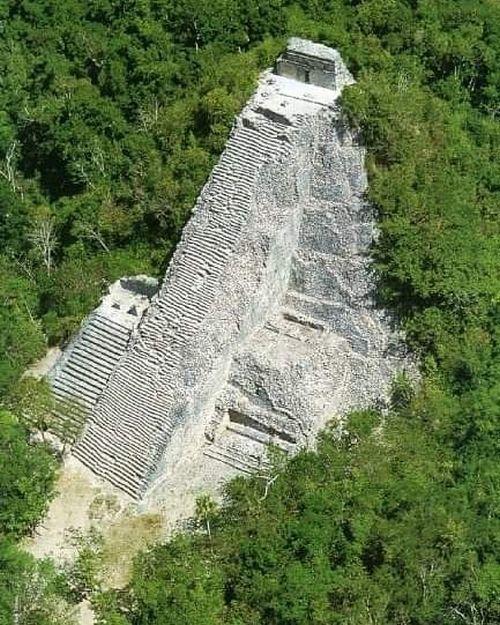 Pirámide maya de Coba