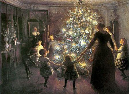 Origen navidad saturnales yule